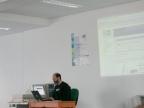 Peter Holzer referiert über Mailserver Konfiguration
