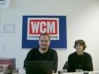Das WCM ist auch vertreten