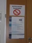 Die Veranstaltung fand am Studiengang ICS der Fachhochschulstudiengänge Burgenlang Ges.m.b.H. statt- Rauchen war im Vortragssaal sowie im PC-Raum nicht erlaubt