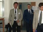 Die Mit-Organisatoren der Linuxwochen / Eisenstadt vom Studiengangs ICS (v.l.n.r  Dr. Falk, Dr. Wiesinger)