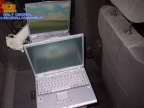 2 Laptops für die hinteren Beifahrer