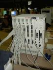 viele kabel, viele löcher, das kann nur ein switch sein :)
