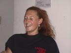 Teilnehmerin der Endausscheidung zur Miss LAN 2001