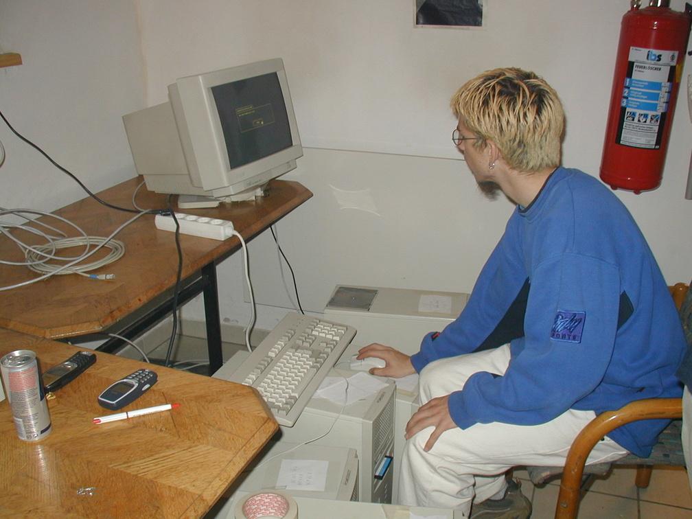 [ICB]Brubaker beim Server vorbereiten