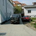 Garten/Parkplatz beim Juz