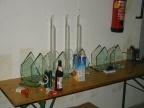 Die Turnierpreise samt Bier, Eistee und a bissal an Dreck am Tisch ;)