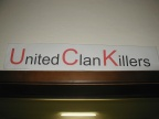 UCK = United Clan Killers, na muss man ja richtig aufpassen