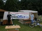 Die OpenOffice.org Usergroup war auch vertreten.