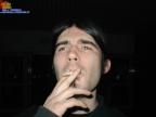 Papabong der alte Raucher