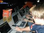 später haben wir uns mit den Laptops in das Dagor.Net(z) reingehängt, Thanks to Fepp