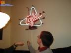 ob man das Cafe Schild abstellen kann ?